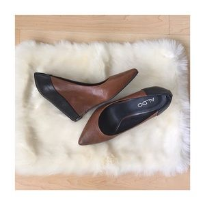 Aldo Leather Wedges